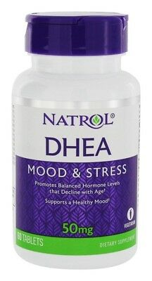 NATROL - Dhea 50 mg Helps Support Overall Health High Quality - 60 Tablets