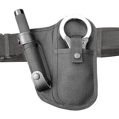 """BH3 Protec Police Black Hand cuff and 26"""" Baton Holder"""