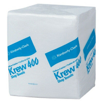 Kimberly Clark 33036 Krew 400 Shop Towels 12.5 x 14.4- Quarterfold