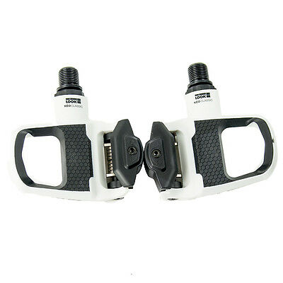 Look Keo Classic 2 Road Cycling Clipless Pedals White/Black