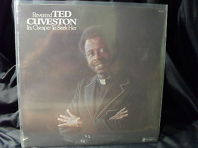 Rev. Ted Cuveston - It´s Cheaper To Seek Her (still sealed)