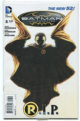 Batman Incorporated 8 NM New 52  Death of Robin CBX29