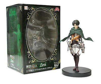 """NEW 6.5"""" Levi Ackerman Cross Handed Figure - Attack on Titan by Furyu"""