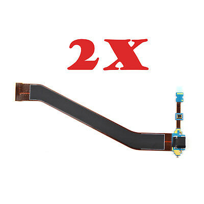 2X Flex Cable USB Charging Port For Samsung Galaxy Tab 3 10.1 GT-P5200 GT-P5210