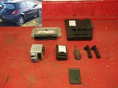 immobiliser kit lock set 8200321263 renault megane 1.6 3dr 02-08 sheffield