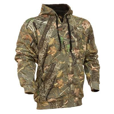 King's Camo Woodland Shadow Mens Hoodie Cotton Classic Hunting Pullover