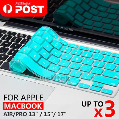 Silicone Keyboard Cover Case Skin For Macbook Pro Air 11 13 15 17 Touch Bar 2016