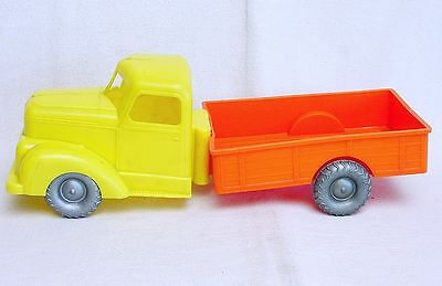 "Large 1:20 Hard Plastic LOW SIDED CHEVROLET TRUCK 12"" inch Long! Nice`60 RARE!"