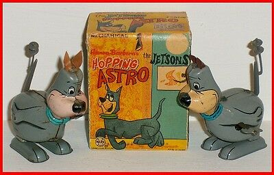 Jetsons Marx Astro Hopping Wind Ups with Original Box - Both Versions