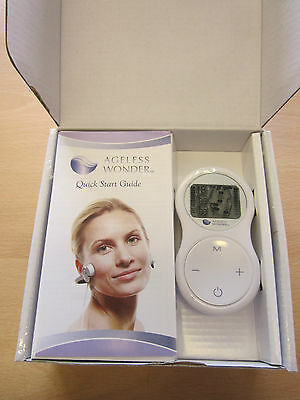 Brand New Ageless Wonder Facial Toning Device Set Mothers Day/Birthday Gift Idea