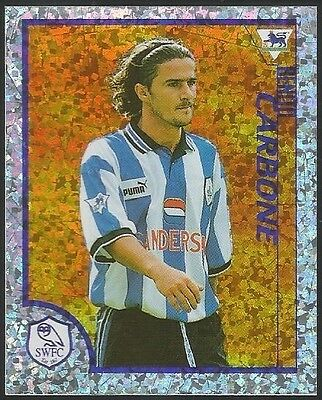 Merlin 1999 Kick Off #148 SHEFFIELD WED Benito Carbone