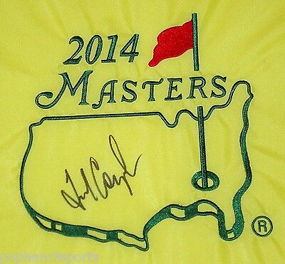 FRED COUPLES Signed/Autographed MASTERS Golf Pin FLAG 1992 Champion w/COA