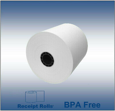 "3 1/8"" (80MM) x 308' Thermal Paper Rolls - 50/CS Epson"
