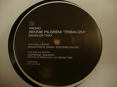 "Rennie Pilgrem Tribalizm 12"" Vinyl Single"