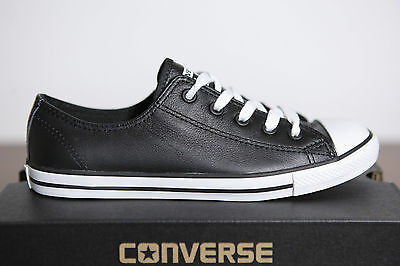 NUOVO CONVERSE Chucks All Star delicato Low Ox sneaker donna pelle 537107c 79