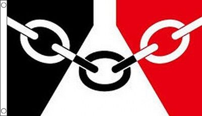 8' x 5' BLACK COUNTRY FLAG West Midlands Staffordshire Wolverhampton Extra Large