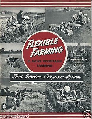 Farm Equipment Brochure - Ford Tractor Ferguson System Products Features (F3178)