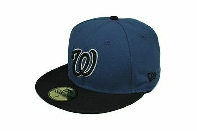 on sale 61171 68094 ... free shipping new era 59fifty hat mens mlb washington nationals indigo  blue fitted 5950 cap d834b