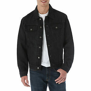 NEW DENIM BLACK MOTORCYCLE JACKET WITH DuPont™ KEVLAR® ARAMID FIBRE  2XLARGE