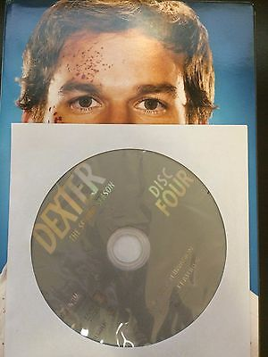 Dexter - Season 2, Disc 4 REPLACEMENT DISC (not full season)