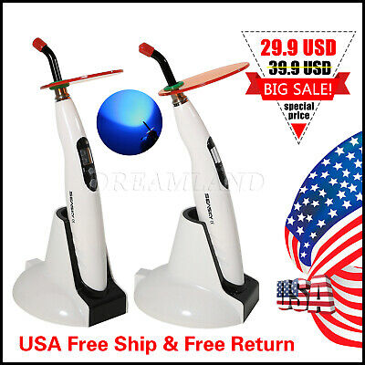 1* Dentista Dental Cordless LED Curing Light Lamp 2300mW Fit Woodpecker iLed 3S