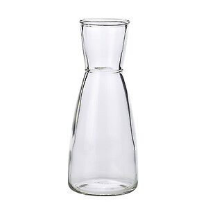 London Carafe 17.5oz / 500ml - Set of 6 - Glass Wine and Water Decanter