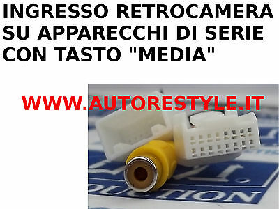 Interfaccia Ingresso Retrocamera Monitor Di Serie Toyota Gt86 Prius Prius Plus
