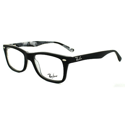 Ray-Ban Glasses Frames 5228 5405 Top Matt Black on Texture Camouflage 50mm
