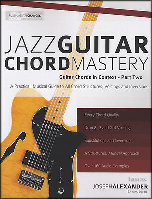 Jazz Guitar Chord Mastery TAB Music Book with Audio Chords in Context Part 2