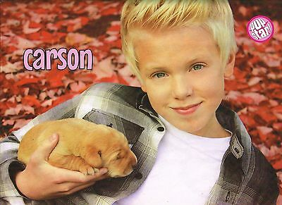 """CARSON LUEDERS - FIFTH HARMONY - 11"""" x 8"""" MAGAZINE PINUP - POSTER"""