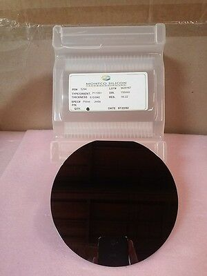 "MONTCO SILICON Technologies 5 3/4"" 150mm DIA Wafer"