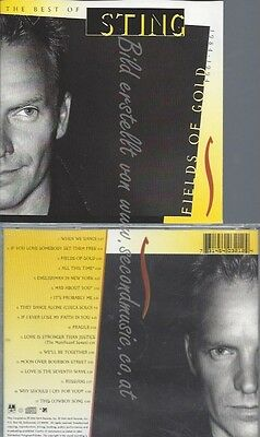 Cd--Sting--Fields Of Gold -Best Of 1984-1994