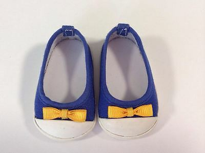 AMERICAN GIRL for 18in doll LANIE meet blue shoes EUC