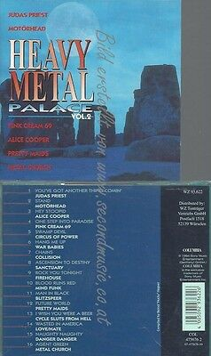 Cd--Hard & Heavy Compilation--Heavy Metal Palace Vol. 2