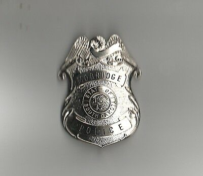Vintage Morbridge South Dakota Police Badge