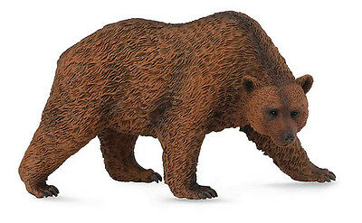 CollectA 88560 Kodiak Brown Bear Wild Animal Figurine New Replica - NIP