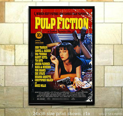 Pulp Fiction - 11x17 inch Vintage Film Movie Poster