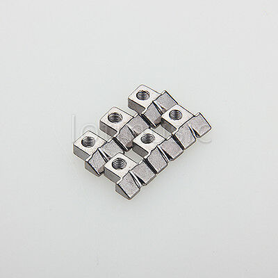 6 Pcs Nickel Plated Guitar String Saddles For GB WIRED ABR-1 Bridge