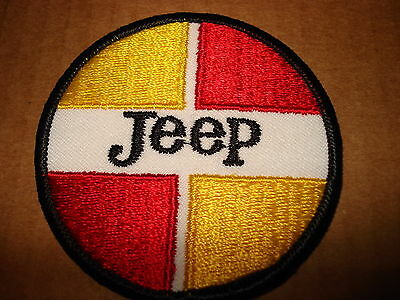"""JEEP CHEROKEE NEW ROUND 3"""" DIAMETER CLOTHING PATCH"""