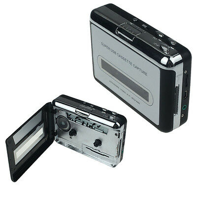Audio Music Player Tape to PC USB Cassette to MP3 CD Converter Capture Reliable