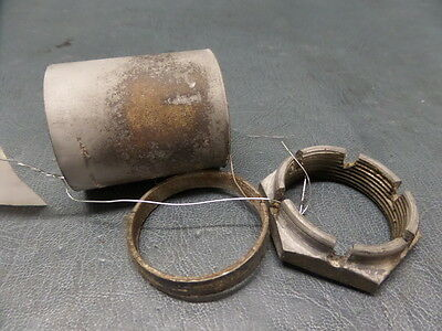 Mooney M20K 231 Aircraft Main Landing Gear Axle Nut Ms21025-024 And Spacer