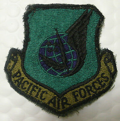 Usaf Air Force Pacific Air Forces Green Subdued Patch