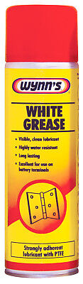 Wynns White Grease 500ml 10579 High Performance Calcium PTFE Lubricant Aerosol
