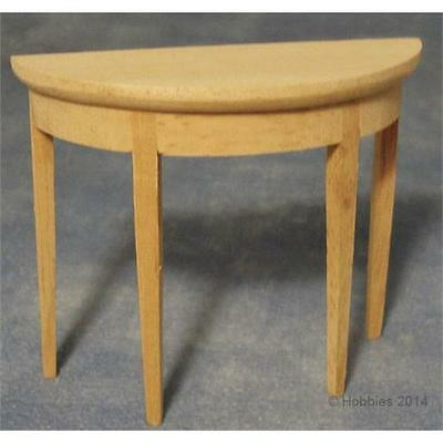 Incredible Dolls House Hall Table Bare Wood Furniture 1 12 Scale Bef090 Lamtechconsult Wood Chair Design Ideas Lamtechconsultcom