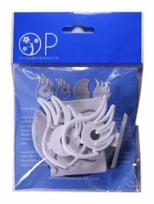 Orchard Products FLOWER SWAN Icing Sugarcraft Cutters & Moulds Set Cake Decor