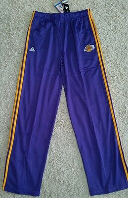 $35 Adidas Boys XL 18-20 NBA LAKERS Athletic Warm Up Pants BASKETBALL 5241014K