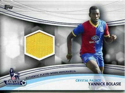 Base # 24 Yannick Bolasie Topps Premier Gold 2013 Crystal Palace