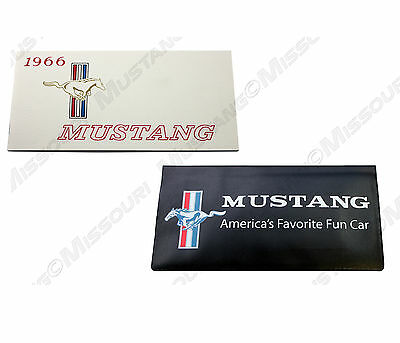 1966 Ford Mustang Owners Manual & Wallet