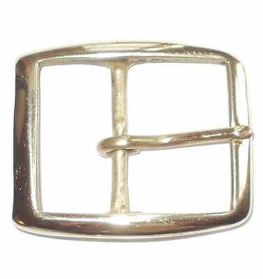 1.5 Inch  - 40Mm Brass Rectangular Full Belt Buckle
