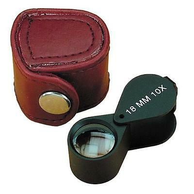 Model Craft Jewellers Loupe - Double Lens 10x Magnification POP1490/B